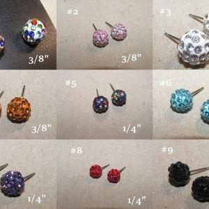 Buy 1 Get 2 Free Rhinestone Stud Earrings